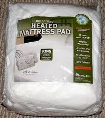 biddeford heated mattress pad warranty mattress