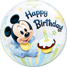 mickey mouse 1st birthday disney mickey mouse 1st birthday balloon qualatex