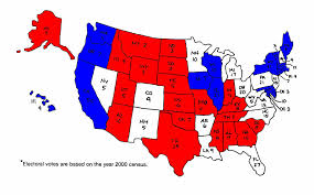 Republican States Map by The Safe States Presidential Election 2008 The Swing Set
