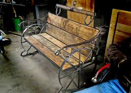 Wagon Wheel Rocking Chair Reeds Blacksmith Shop Wagon Wheel Bench My Happy Place