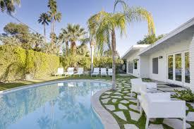 4br 3ba ultra modern palm springs house with pool ra88329