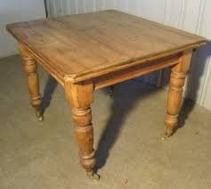 A Lovely Rustic Victorian Pine Kitchen Table - Victorian pine kitchen table