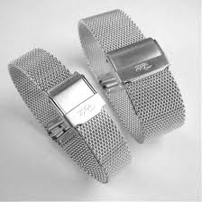 stainless steel bracelet clasps images High quality stainless steel mesh clasp watch bracelet jpg