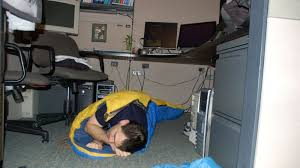 Sleeping At Your Desk How To Get Better Sleep In Uncomfortable And Unavoidable Situations