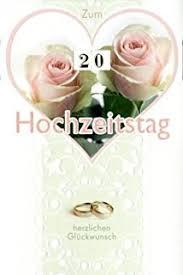 kisseo hochzeitstag porzellan hochzeit 20 hochzeitstag grußkarte 16x11cm