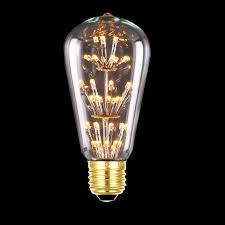 Edison Light Bulbs Aliexpress Com Buy Tanbaby 3w St64 Led Filament Bulb E27 Warm
