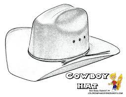 99 ideas cowboy hat coloring pages on gerardduchemann com