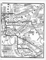 New York Central Railroad Map by Www Nycsubway Org Historical Maps