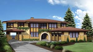 frank lloyd wright style house plans prairie house plans best of apartments frank lloyd wright style