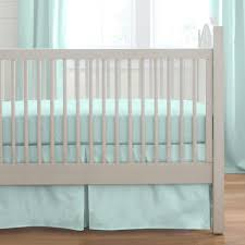 Baby Dinosaur Crib Bedding by Solid Seafoam Aqua 2 Piece Crib Bedding Set Carousel Designs