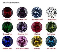mothers rings gold mothers ring 2 3 4 or 5 birthstones 10k white or yellow