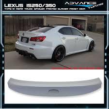 lexus is 250 new zealand 06 13 lexus is250 350 ik style trunk spoiler wing painted glacier