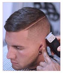 Mens Hairstyles Long On Top Shaved Sides by Cool Short Mens Hairstyles Along With Cool Short Dark Haircuts For