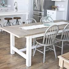 farm table dining room diy weathered farmhouse table project by decoart