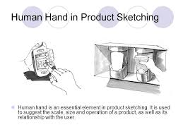 deconstructing a hand product design sketching human hand in
