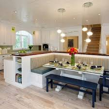 Best Table Island Combined Images On Pinterest Kitchen - Kitchen island with table attached