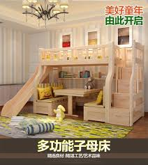 2 floor bed multifunctional level bunk slide bed for children 1 5 child and
