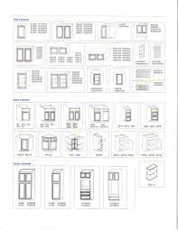 Kitchen Furniture List Astounding Kitchen Cabinet Sizes Design Designs Ideas And Decors