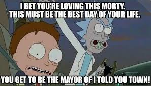 Rick And Morty Meme - morning meme morty is always right rickandmorty bubbleblabber