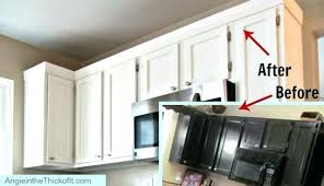 kitchen molding ideas how to install crown moulding on kitchen cabinets cabinet