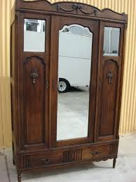 clothing armoires wardrobes wood clothing armoire cherry wood wardrobe closet