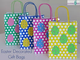 easter bags simple easter gift ideas learning 4 kids