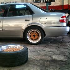 lexus is300 bbs wheels my silver 00 ae112 from brazil trd forums