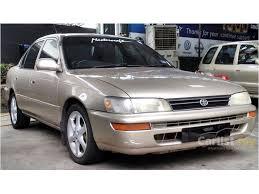 toyota corolla sedan 1993 toyota corolla 1993 seg 1 6 in penang manual sedan gold for rm