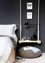 fabriquer chambre un chevet déco original à faire soi même pour la chambre
