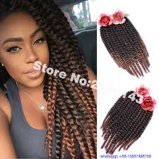 ombre human braiding hair ombre synthetic braiding hair 6 packs 18 inch havana mambo twist