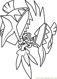 coloring pages pokemon sun and moon tapu koko pokemon sun and moon coloring page free pokémon sun and