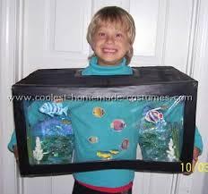 Halloween Costumes Kids Aquarium Costume Great Home Made Costume Idea Costume Kids