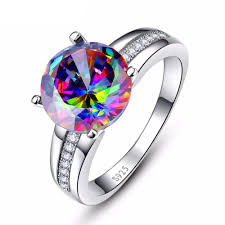 silver topaz rings images 6 3 carat noble rainbow fire mystic topaz ring crafted in 925 jpg