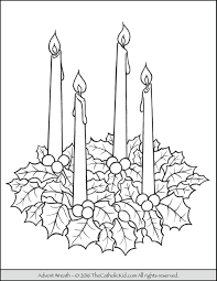 advent wreath coloring page best coloring pages adresebitkisel com