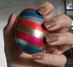 Decorating Easter Eggs With Nail Polish easter eggs craftynail