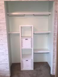 ikea storage hacks ikea closet hack with lack shelves and kallax unit nursery