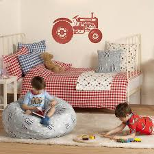 personalised children s tractor wall sticker by oakdene designs personalised children s tractor wall sticker