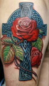 celtic cross tattoos inkdoneright