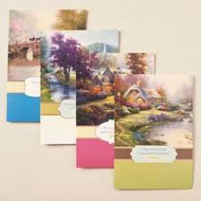 kinkade thank you 12 boxed cards cards ordered for