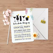 cocktail party invitations j32 design