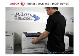 color laser printer review xerox phaser 7100