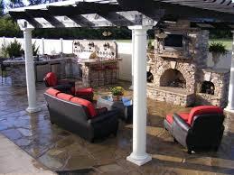 custom backyard designs custom outdoor kitchen designs endearing