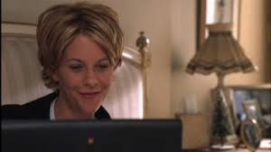meg ryans hairstyle inthe movie youv got mail you ve got mail great love story i love meg ryan s hair cut in