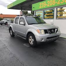 nissan frontier quad cab for sale nissan frontier crew cab le pickup in florida for sale used