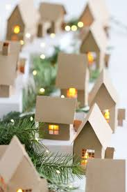 best 25 paper christmas decorations ideas on pinterest christmas advent paper houses free tutorial and cutting files delia creates