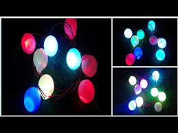 how to make a home decoration lights at home diwali christmas