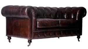 sofa 3 sitzer leder chesterfield sofa 3 sitzer aus vintage leder by vintage line