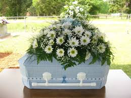 baby casket bowden floral casket sprays