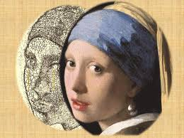 vermeer girl with pearl earring painting theory of networks helps understand paint ageing research