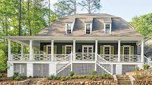 house plans with covered porches wrap around porches house plans southern living house plans